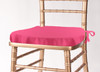 Solid Polyester Seat Cushion Cover-Bubblegum