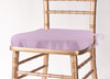 Solid Polyester Seat Cushion Cover-Lilac