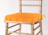 Solid Polyester Seat Cushion Cover-Neon Tangerine