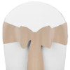 Solid Polyester Chair Sash-Beige