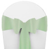 Solid Polyester Chair Sash-Mint