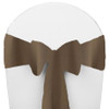 Solid Polyester Chair Sash-Olive