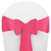 Solid Polyester Chair Sash-Bubblegum