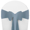 Solid Polyester Chair Sash-Slate