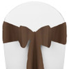Solid Polyester Chair Sash-Canteen