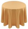 Spun Polyester Tablecloth Linen-Buttercup Goldenrod