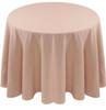 Spun Polyester Tablecloth Linen-Beige