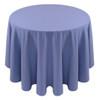Spun Polyester Tablecloth Linen-Periwinkle