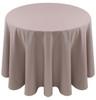 Spun Polyester Tablecloth Linen-Silver