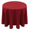 Spun Polyester Tablecloth Linen-Paprika