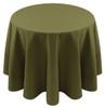 Spun Polyester Tablecloth Linen-Dark Olive