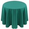 Spun Polyester Tablecloth Linen-Jade