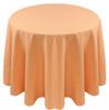 Spun Polyester Tablecloth Linen-Melon