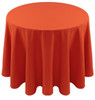 Spun Polyester Tablecloth Linen-Orange
