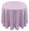 Spun Polyester Tablecloth Linen-Lilac