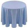 Spun Polyester Tablecloth Linen-Light Blue