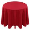 Spun Polyester Tablecloth Linen-Red
