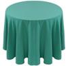 Spun Polyester Tablecloth Linen-Lagoon