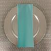 Dozen (12-pack) Spun Polyester Table Napkins-Aqua