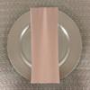 Dozen (12-pack) Spun Polyester Table Napkins-Beige