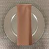 Dozen (12-pack) Spun Polyester Table Napkins-Cafe
