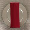 Dozen (12-pack) Spun Polyester Table Napkins-Cherry Red