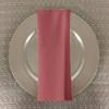 Dozen (12-pack) Spun Polyester Table Napkins-Dusty Rose