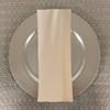 Dozen (12-pack) Spun Polyester Table Napkins-Ivory