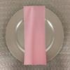 Dozen (12-pack) Spun Polyester Table Napkins-Light Pink