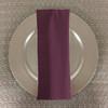 Dozen (12-pack) Spun Polyester Table Napkins-Claret