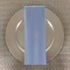 Dozen (12-pack) Spun Polyester Table Napkins-Light Blue