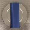 Dozen (12-pack) Spun Polyester Table Napkins-Cadet Blue