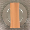 Dozen (12-pack) Spun Polyester Table Napkins-Melon