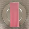 Dozen (12-pack) Spun Polyester Table Napkins-Pink
