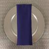Dozen (12-pack) Spun Polyester Table Napkins-Purple
