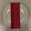 Dozen (12-pack) Spun Polyester Table Napkins-Paprika