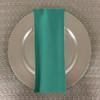 Dozen (12-pack) Spun Polyester Table Napkins-Lagoon