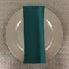 Dozen (12-pack) Spun Polyester Table Napkins-Teal