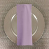 Dozen (12-pack) Spun Polyester Table Napkins-Lilac