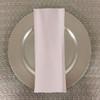 Dozen (12-pack) Spun Polyester Table Napkins-White