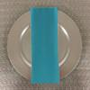 Dozen (12-pack) Spun Polyester Table Napkins-Turquoise