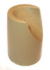 "Beige Stability Cap for 7/8"" Folding Chairs"
