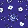 Dozen (12-pack) Bandana Print Polyester Table Napkins