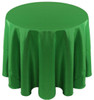 Solid Bengaline Textured Tablecloth Linen-Emerald