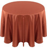 Solid Bengaline Textured Tablecloth Linen-Maple