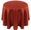 Solid Bengaline Textured Tablecloth Linen-Toast