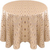 Eclectic Art Deco Jacquard Tablecloth Linen-Orchid
