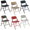 Body Builder Premium Steel Folding Chair By National Public Seating, 200 Series