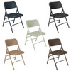 Body Builder Deluxe Steel Folding Chair By National Public Seating, 300 Series