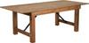 "40"" Wide Hercules Antique Rustic Solid Pine Folding Farm Tables-7 Foot Long"
